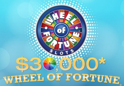 $30,000 Wheel of Fortune Slot Tournament