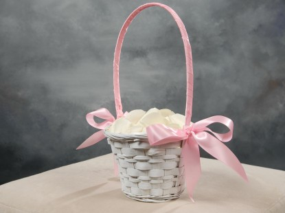 Flower Basket with Petals