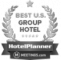HotelPlanner | Meetings.com<br />Top 50 Group Hotel | 2014<br />Top 50 USA Group Sales Managers | 2015, 2017