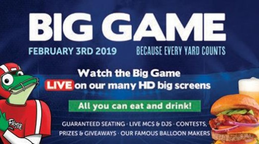 Senor Frog's Big Game Party 2019