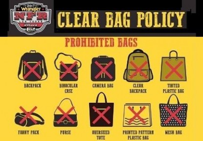 NFR Clear Bag Policy