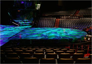 mystere theater seating chart: Myst re by cirque du soleil shows in las vegas treasure island