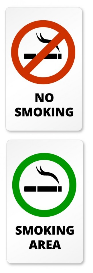 No Smoking Non Smoking nonsmoking smoke free zone